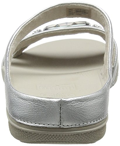 Toe Women's Sandals Silver Luna Open Fitflop Silver Pop Slide 1aPqP