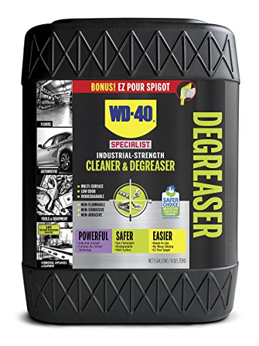 WD-40 (WDAAG) 30047 Specialist Industrial Strength Degreaser Non-Aerosol, 5 gal PAIL, 14.75'' Height, 10.63'' Width by WD-40 (WDAAG)