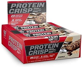 12 Count BSN Syntha-6 20g Low Sugar Protein Crisp Bar