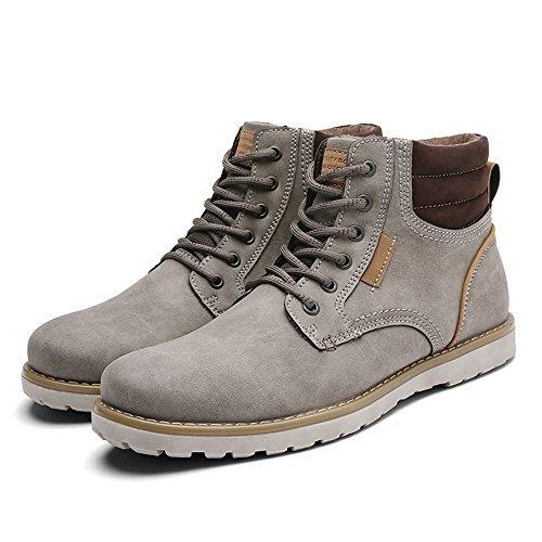Quicksilk Denoise NY Men's Waterproof Hiking Boot (11 D(M) US, Light Gray)
