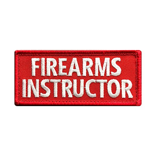 Firearms Instructor Morale Hook Fastener Patch (3.5 X 1.5 FR4)