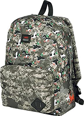 c2844f15d9 Amazon.com  Vans mens OLD SKOOL II BACKPACK NINTENDO DUCK HUNT VN-0ONIKGN - Duck  Hunt by Vans  Sports   Outdoors