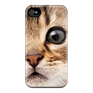Hot Curioso Gatito First Grade Tpu Phone Case For Iphone 4/4s Case Cover