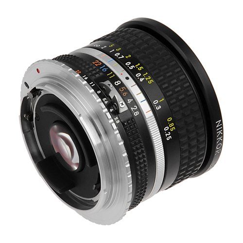 Fotodiox Lens Mount Adapter - Nikon Nikkor F Mount D/SLR Lens to Canon EOS (EF, EF-S) Mount SLR Camera Body