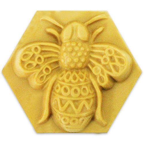 (Filigree Bee Milky Way Soap Mold - Melt and Pour - Cold Process - Clear PVC - Not Silicone - MW 01 )
