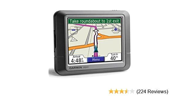 amazon com garmin n vi 250 3 5 inch portable gps navigator silver rh amazon com Reset Garmin Nuvi 1350 garmin nuvi 1450 manual english