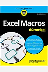Excel Macros For Dummies (For Dummies (Computer/Tech)) Kindle Edition