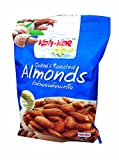 Roca Labs Best Deals - 4 Packs of Salted & Roasted Almonds. Premium Quality Snack, No Cholesterol By Koh Kae Plus. (35 G/ Pack)