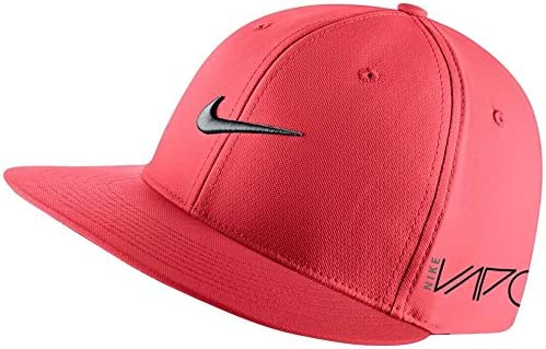 NEW Nike True Tour Flat Bill RZN Vapor Small Medium Daring Red Hat ... b5b2ecae462