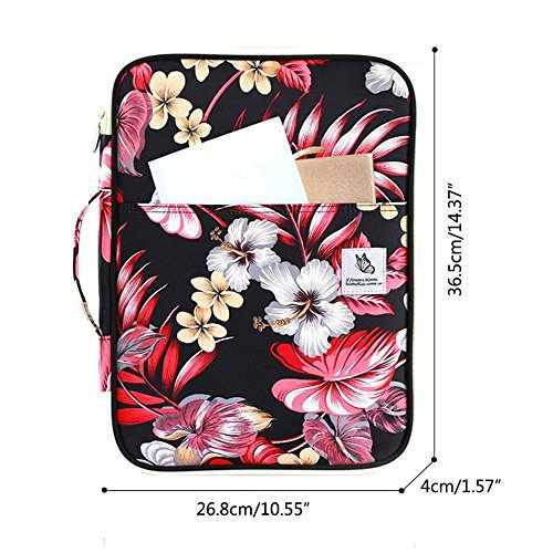 For Briefcase Carrying Men Handbag Women And Sleeve Waterproof 3 pocket Nylon 13 Multi Bag Inch Laptop Kobwa Bussiness 6PpzT