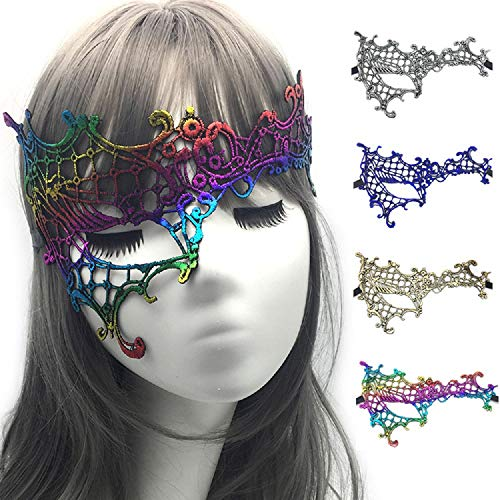 BALANSOHO Sexy Lace Masquerade Masks for Women Venetian for sale  Delivered anywhere in Canada