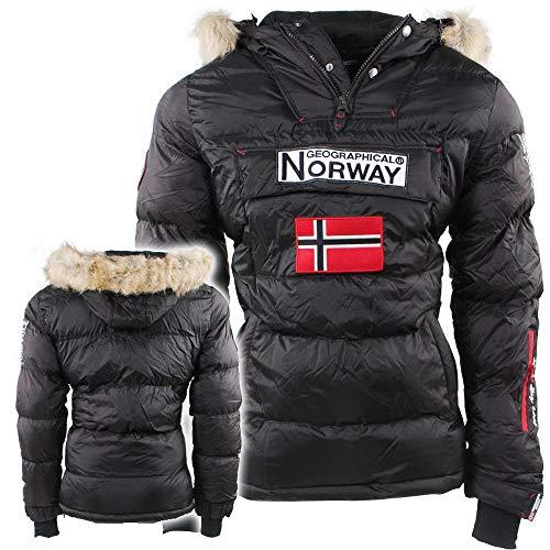 068 Parka Brice Marron Men Enfiler Norway Doudoune Geographical À 0Y6qnS