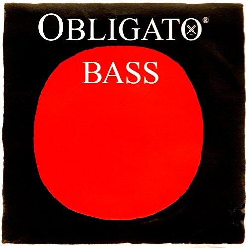 (Pirastro Obligato 3/4 Upright Double Bass String Set - Medium Gauge)