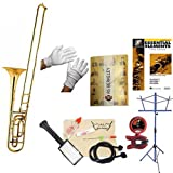 RS Berkeley TBB707 Artist Series Bass Trombone with case & Bonus RSB MEGA PACK w/Essential Elements Book