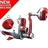 Accurate Valiant BV2-1000 Reel - Right-Handed - Red/Silver