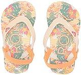 Best Girl Flip Flops - Roxy Girls' TW Pebbles Flip Flop Sandals, Peach Review