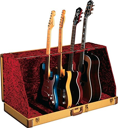 - Fender Stage Seven Guitar Stand Case, Tweed