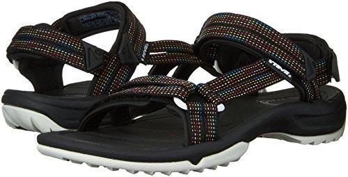 Caminar Fi Women's Teva Negro Lite Terra Sandalia Ss16 Para Ias UqxS0wWv