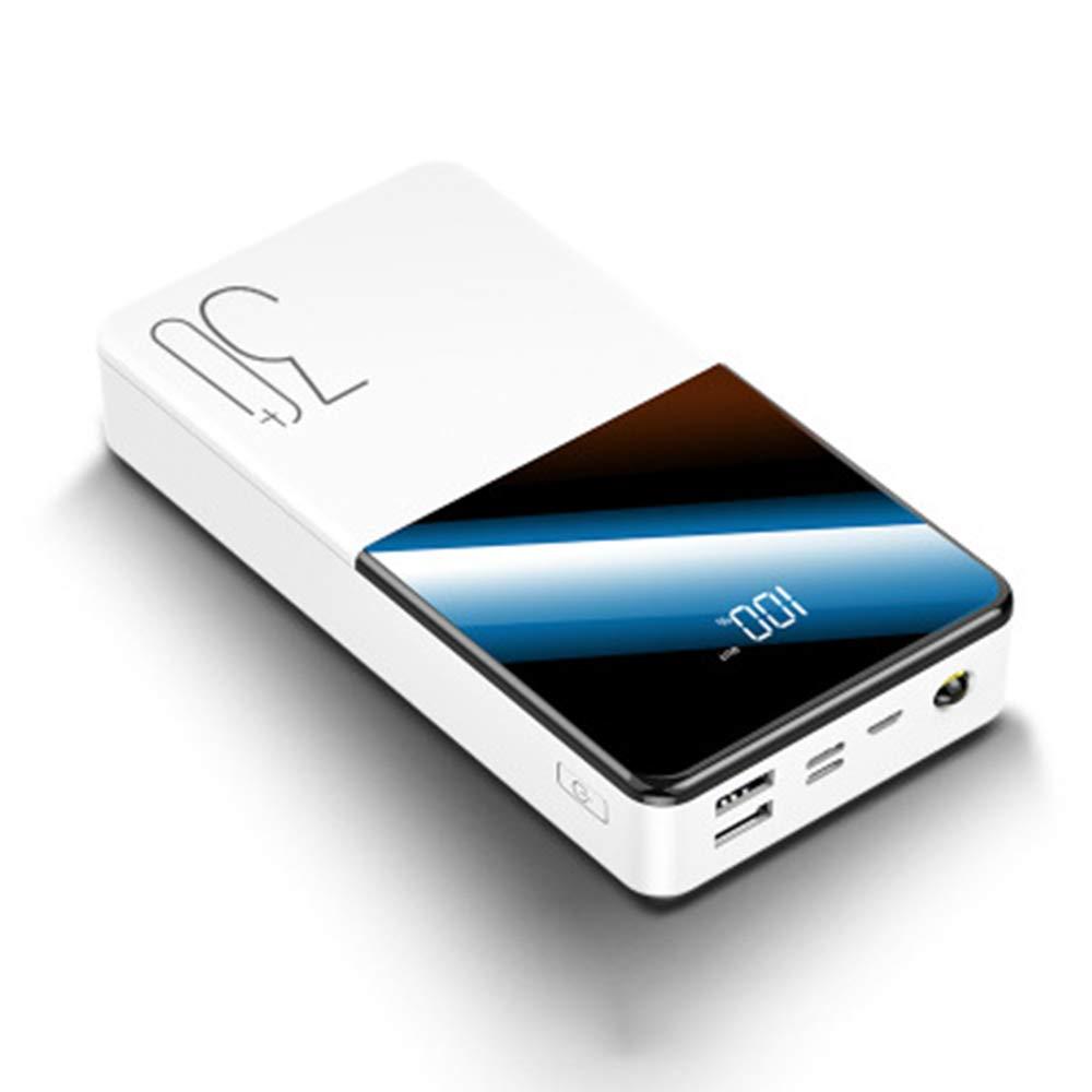GPWDSN Bank Power Bank 30000 Mah Portable Charging Power Bank LCD 30000 Mah USB External Battery Charger for Xiao Mi Mi iPhone 8 by GPWDSN