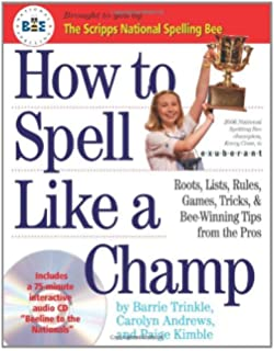Amazon a champions guide to success in spelling bees how to spell like a champ fandeluxe Gallery