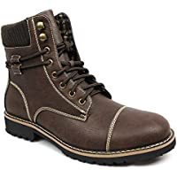 New Men's Polar Fox Cap Toe Modern Boot Lace up Wool Lining 808570