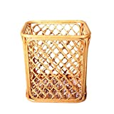 TSAR003 Pure Hand Rattan Laundry Basket Dirty Clothes Toy Debris Collection Towel Frame 36 30 40Cm