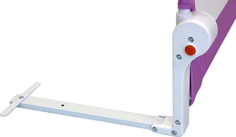 Portable 4 Couleurs Rabattable avec Safetybutton Bedrail Safetyguard /102cm x 42cm Marron IB-Style Barri/ère de lit /FINN/  4 Tailles S/écurit/é