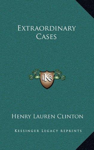 Read Online Extraordinary Cases ebook