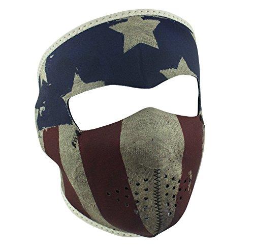 Headwear Men Apparel (ZANheadgear WNFM408 Neoprene Full Face Mask, Patriot)