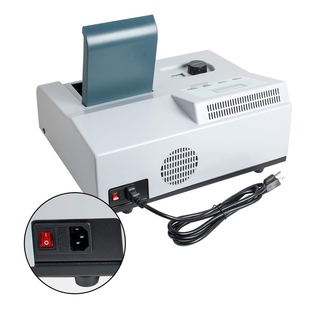 Funwill Visible UV Spectrophotometer 721 LDC Digital Lab Spectrophotometer 350-1020nm Tungsten Lamp Lab Equipment