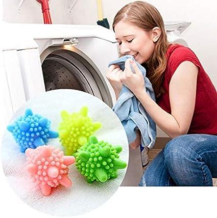 Amazon.com: 6 Pieces/Set Magic Decontamination Laundry Ball Anti-Winding Washing  Ball Dryer Balls Keeping Laundry Fresh Drying Fabric Softener: Health &  Personal Care