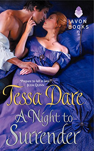 A Night to Surrender (spindle cove Book 1) by [Dare, Tessa]
