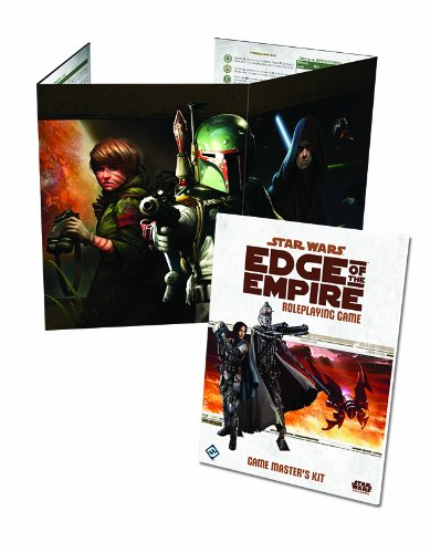 Star Wars: Edge of the Empire - Game Master's Kit (Star Wars Edge Of The Empire Dice)