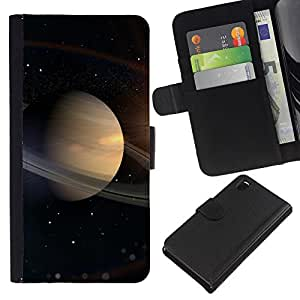 KingStore / Leather Etui en cuir / Sony Xperia Z3 D6603 / Spazio