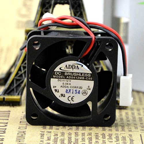 C50 12 v 0.08 A 4020 Fans Double Ball Bearing Cooling Fans REFIT New AD0412MB