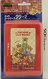 Nintendo Official Kawaii 3DS Game Card Case24 -Suzy's Zoo Nine Bears-