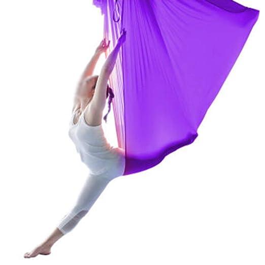 THOR-YAN Yoga Flying Hammock-5m Largo 2.8m Ancho Swing ...