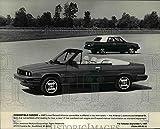 1984 Press Photo Alliance L & Alliance DL,AMC's new Renault Alliance convertible