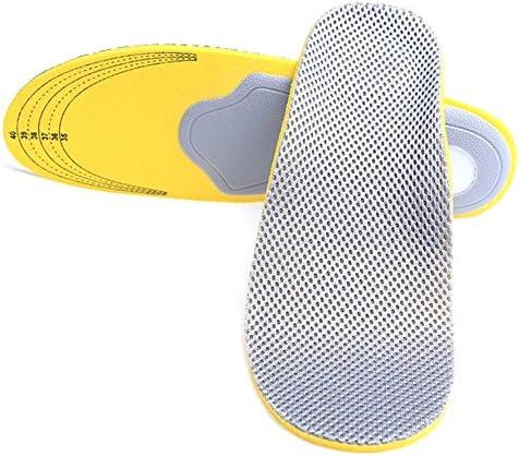 Komfort Orthopädische Einlegesohlen Flache Füße Arch Support Schuhe Dämpfung Sport Einlegesohlen Pads für Plantar Fasziitis, Senkfüße, Plattfüße, Pronation