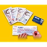 Sterling Notes Play Set - code 348g Extremely realistic, high quality laminat...