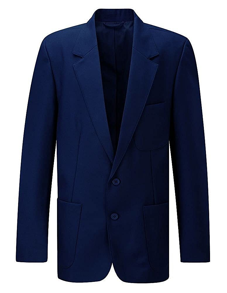 New Beau Brummel School Uniform Elegant Coat Ziggys Mens Zip Entry Blazer Senior