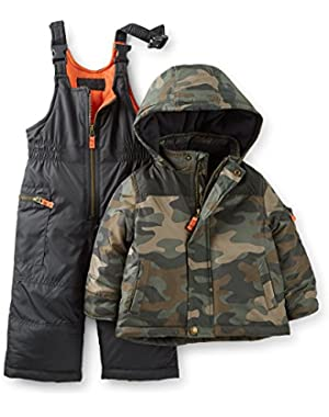 Carter's Baby Boys' 2-piece Snowsuit Set