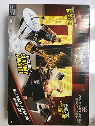 WWE WWENETWORK SPOTLIGHT SLAMMY AWARDS ANARCHY PLAYSET by WWE