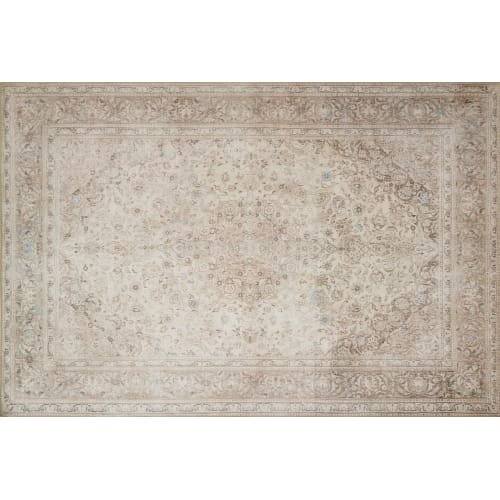 Sand 3x5 Area - Loloi LORELQ-03SATA2339 Loren Collection Traditional Area Rug, 2'-3