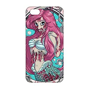Slim Thin 3D Cartoon Mermaid In A Manhole For SamSung Galaxy S5 Phone Case Cover