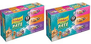 Purina Friskies Classic Pate Variety Pack Cat Food
