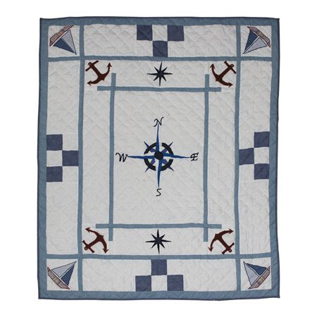 Patch Magic THSTSE Star Of The Sea, Throw 50 x 60 in. ()