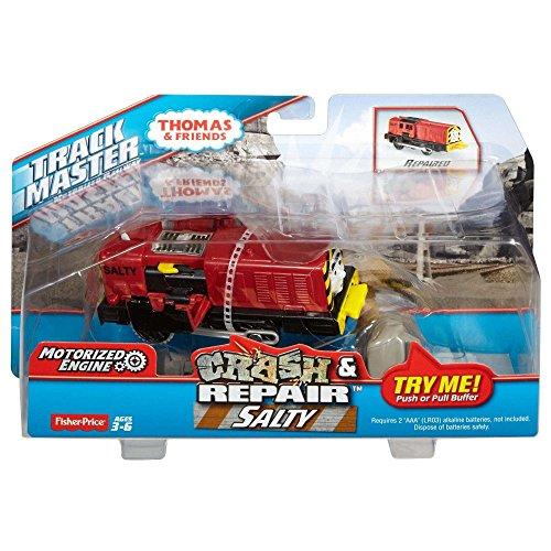 휘셔 프라이스 Fisher-Price 토마스와 친구들 Thomas and Friends 크래쉬와 수리 Trackmaster Crash and Repair 솔 티 SALTY【병행수입판】