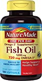Nature Made One per Day Fish Oil 1200 mg Softgels 100 Count w. Omega-3 720 mg Review