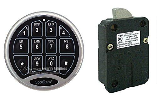 SecuRam Electronic Safe Lock (Safe With Electronic Lock)
